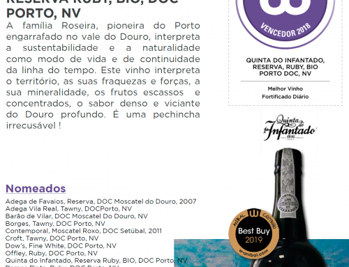 Quinta do Infantado Reserva Ruby bio – Vinho Fortificado do ano