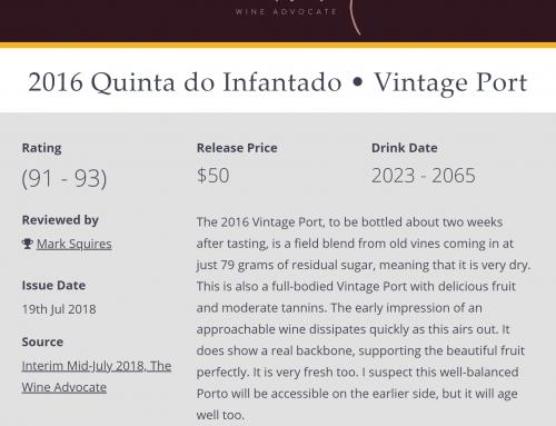 Quinta do Infantado Porto Vintage 2016