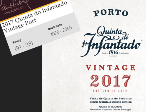 Quinta do Infantado Porto Vintage 2017, review The Wine Advocate